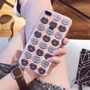 Accessories - NEW iPhone 7/8/6+ 3D Lips Soft TPU Case